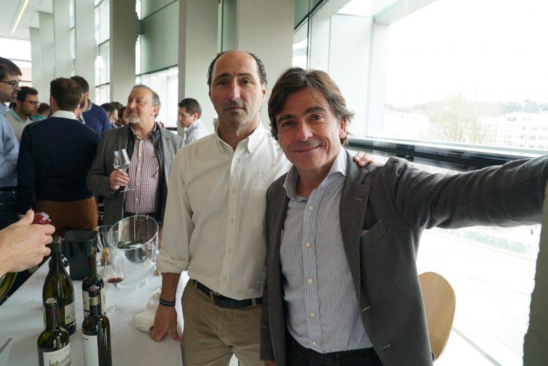 Telmo Rodríguez y Pablo Eguzkia